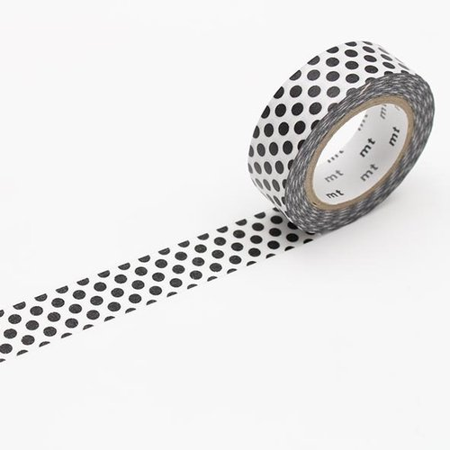 MT masking tape, dot black 2