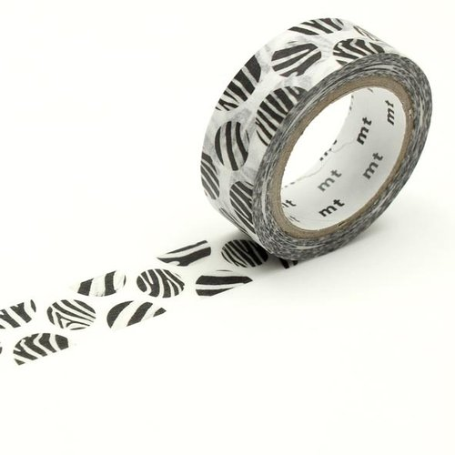 MT masking tape, dot zebra