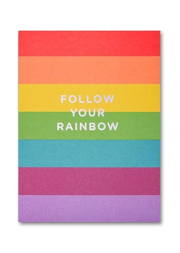 Pikkukortti Lagom - Follow your rainbow