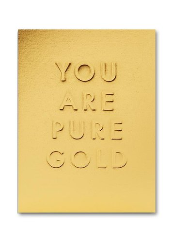 Pikkukortti Lagom - You are pure gold