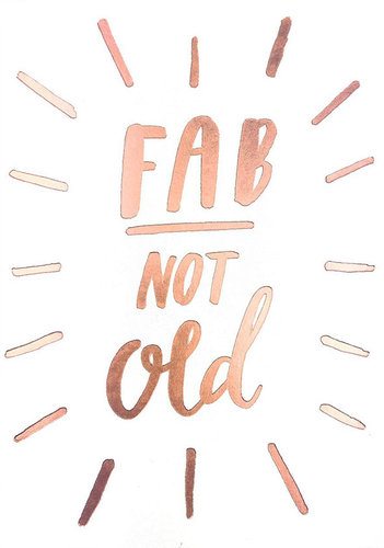 2-osainen kortti Sadler Jones - Fab not old