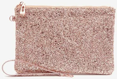 Glitteripussukka Go Stationery - Rose Gold