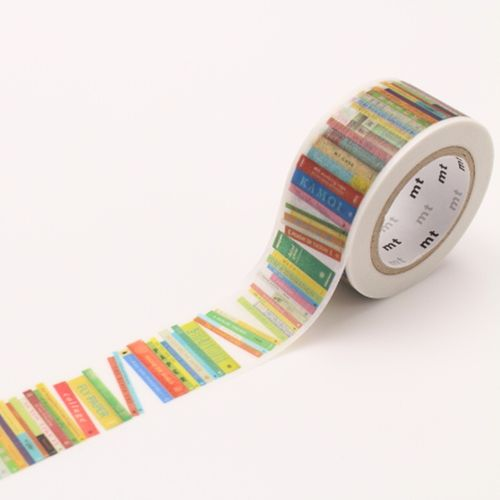 MT masking tape - books