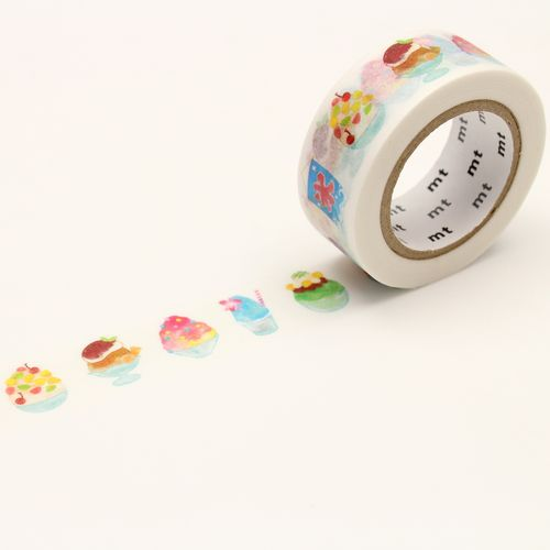 MT masking tape - shaved ice