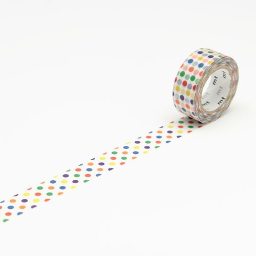 MT masking tape, colorful dot