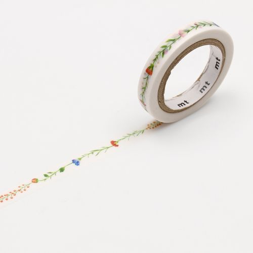 MT masking tape, flower line