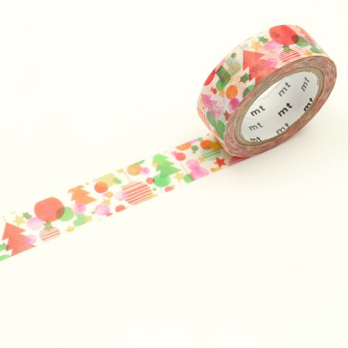 MT masking tape - watercolor christmas