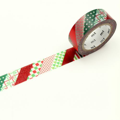 MT masking tape - christmas stripe