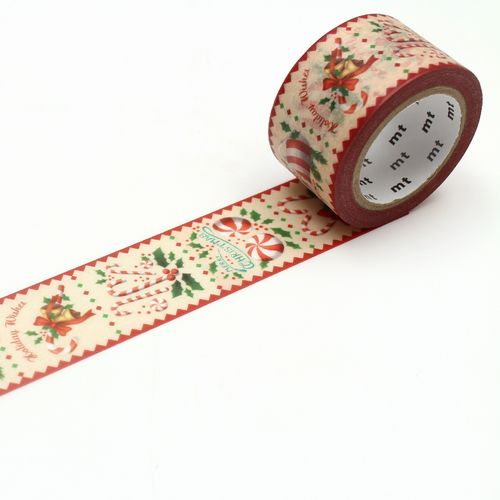 MT masking tape - candy cane