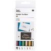 Brushpen set Rico Design - Metallic 6 pieces