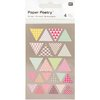 Tarrasetti Paper Poetry - Multicolor Triangles