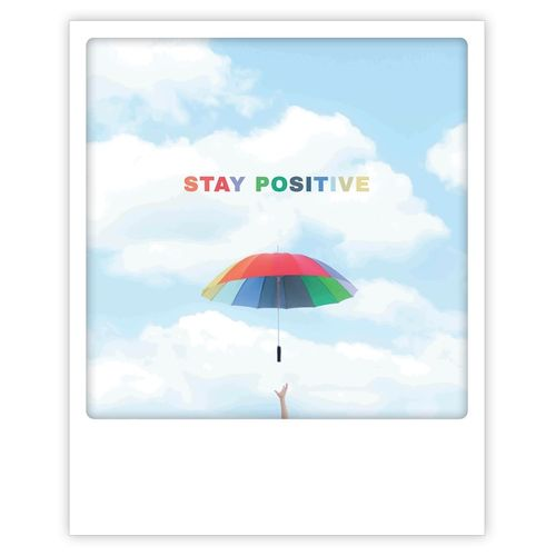 Postikortti Pickmotion - Stay positive