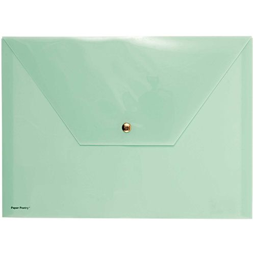Folder A4 Paper Poetry - Mint