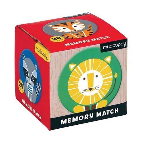 Memory Game Mudpuppy - Geometric Animals